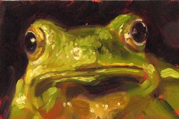 Frog Oil Painting | www.pixshark.com - Images Galleries ...
